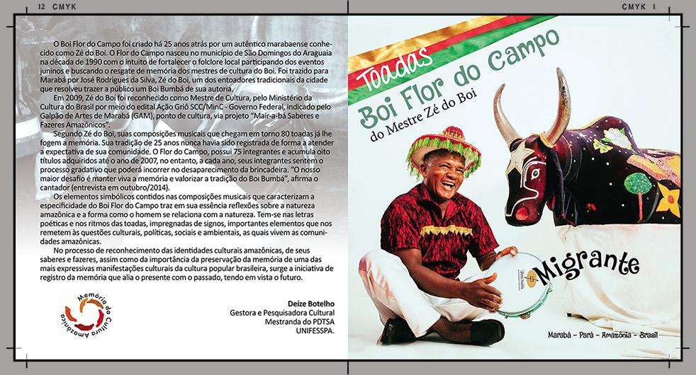 Toadas do Boi Flor do Campo – Marabá, Pará